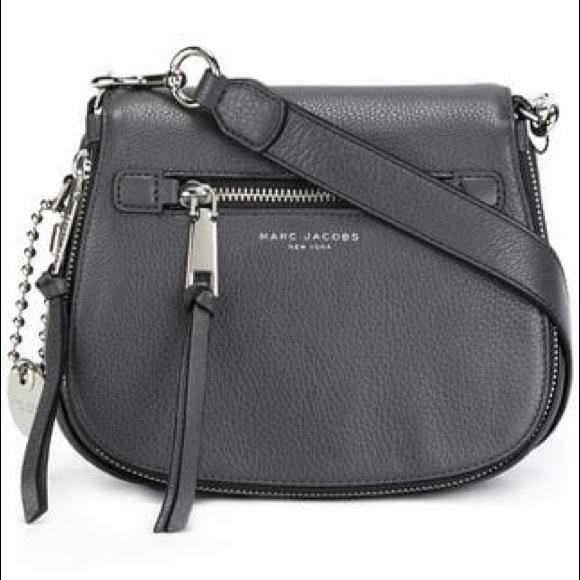 4fed76253080 NWOT Marc Jacobs Recruit Leather Saddle Bag🤩. M 5bff79db0cb5aab2f6e7c50f
